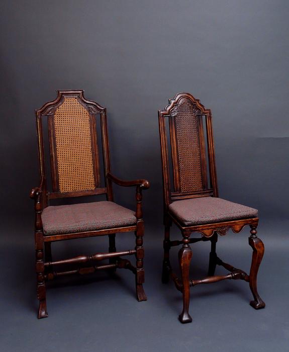 Stühle Verschiedener Epochen Antiquitäten Am Alten Hof München